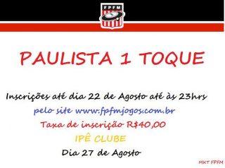 PAULISTA 1 TOQUE
