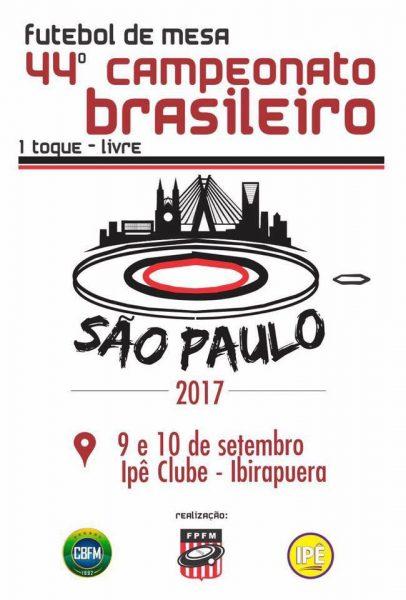 44º BRASILEIRO - 1 TOQUE LIVRE