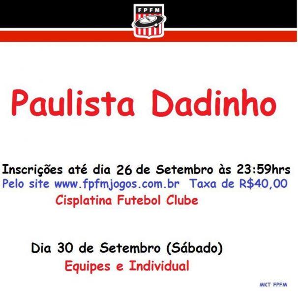 PAULISTA DADINHO