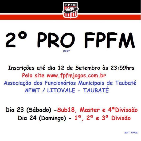 2º PRO FPFM