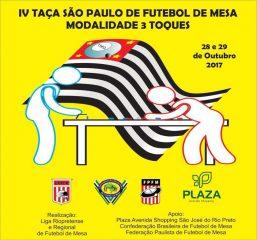 IV TAÇA SÃO PAULO DE FUTEBOL DE MESA BOLA 3 TOQUES