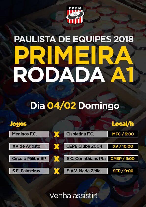 RODADA EQUIPES 2018