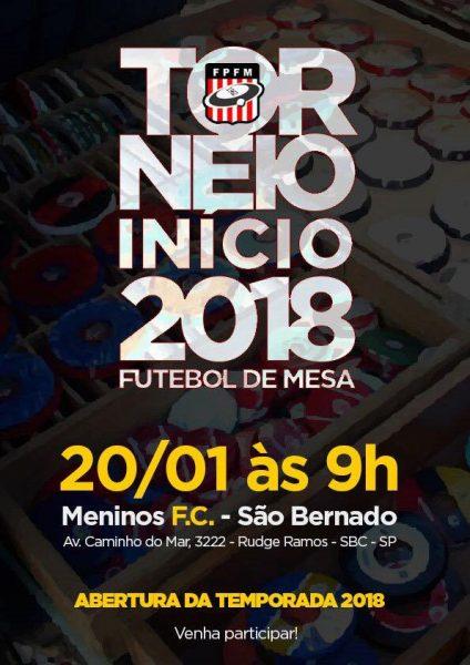 ABERTURA DA TEMPORADA 2018