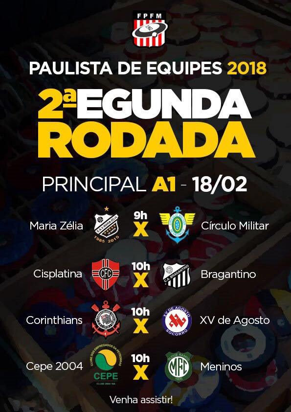 PAULISTA DE EQUIPES 2018