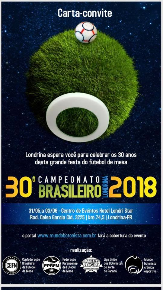 Carta Convite - BR 18 - Londrina PR