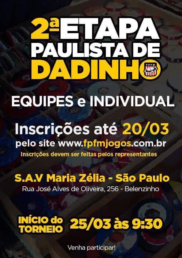 II ETAPA PAULISTA DE DADINHO