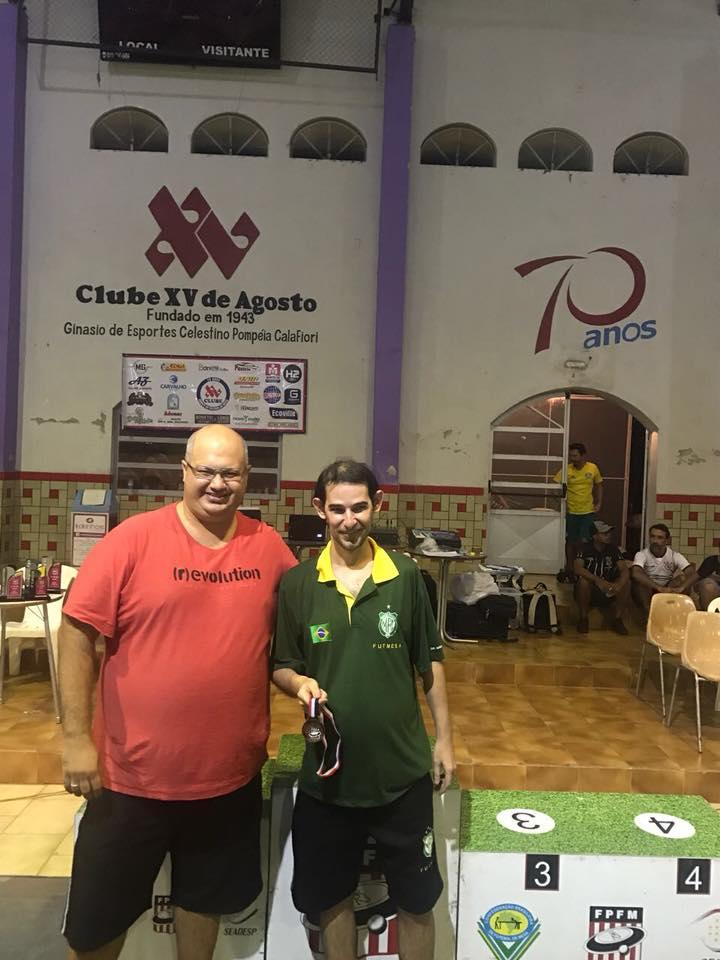 2º Open 2018 - Clube XV de Agosto - Socorro SP - SÉRIES SÁBADO