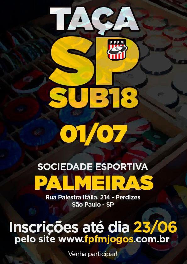 Taça SP - Sub 18