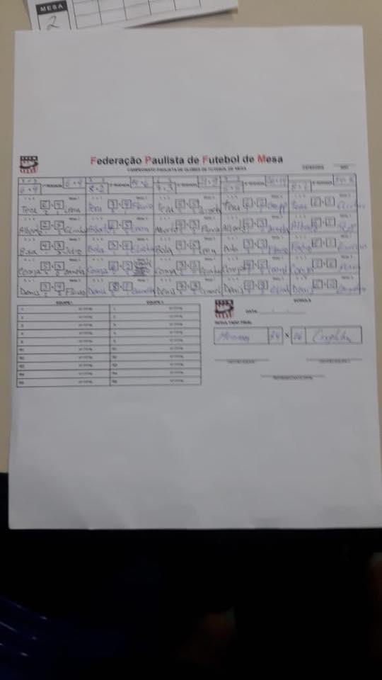4ª Rodada - Paulista de Master