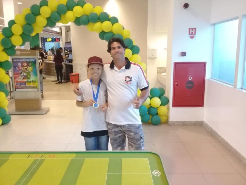 Torneio no Parque Shopping Anhanguera - Clínica para iniciantes