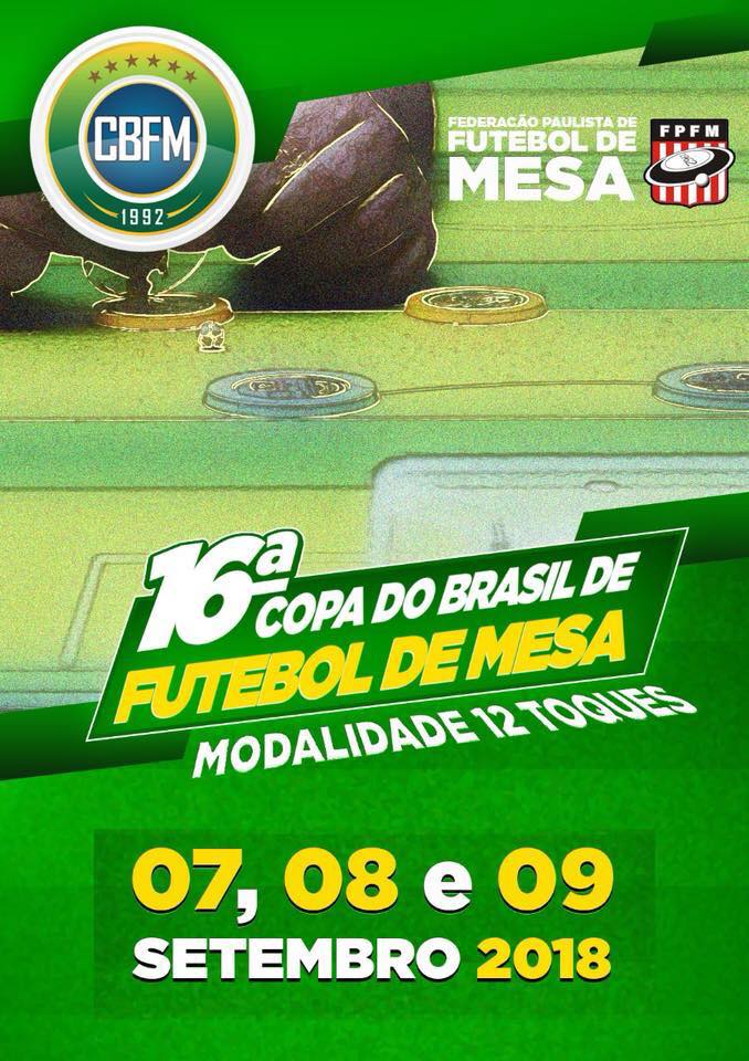 Copa do Brasil - 2018 - 12 Toques
