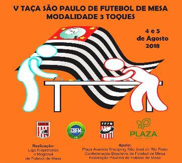 V Taça SP de 3 Toques - S J do Rio Preto SP