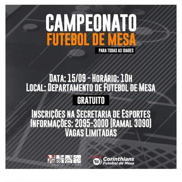 Campeonato de Futebol de Mesa - SCCP