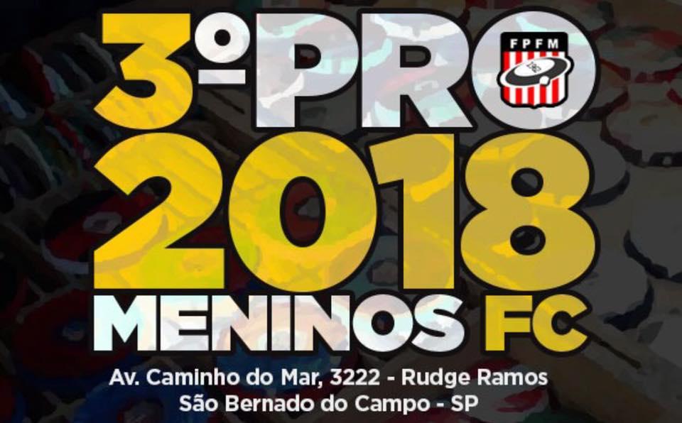3º PRO - MENINOS FC