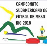 Sulamericano 2018 - RJ