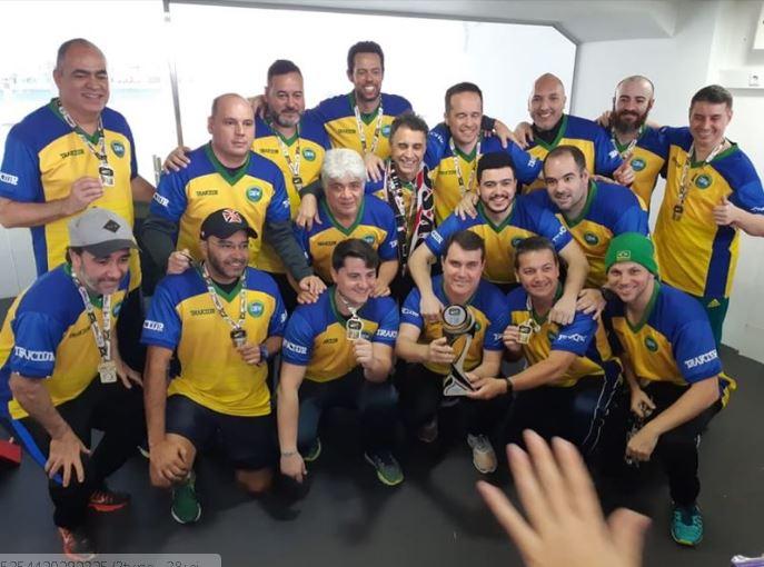 Brasil Campeão Mundial de Futebol de Mesa